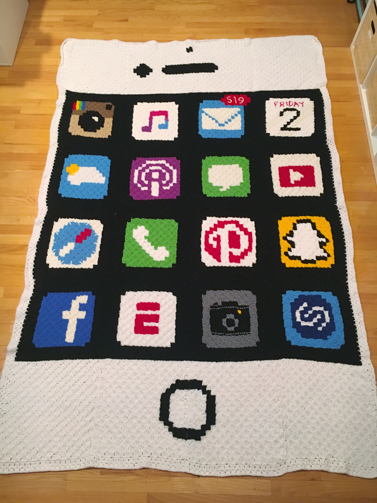 iPhone Blanket